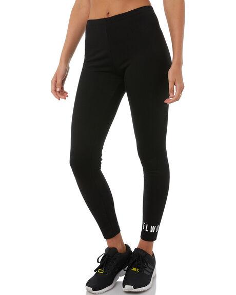 BLACK WOMENS CLOTHING ELWOOD PANTS - W81602BLK