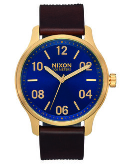 NAVY BROWN BLACK MENS ACCESSORIES NIXON WATCHES - A1243-3210NBBG
