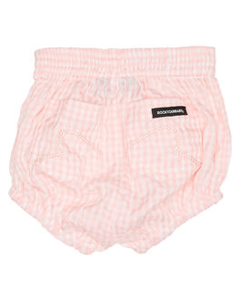 PINK CHECK KIDS BABY ROCK YOUR BABY CLOTHING - BGP1930-BSCHK