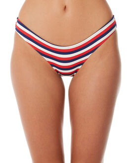 AMERICAN RIB OUTLET WOMENS SOLID AND STRIPED BIKINI BOTTOMS - WS-1059-1439AMRC