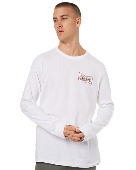 OPTIC WHITE MENS CLOTHING ELEMENT TEES - 173051OWHT