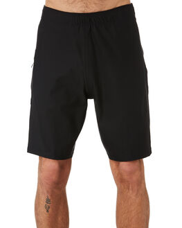 BLACK MENS CLOTHING VANS BOARDSHORTS - VNA3WETBLKBLK