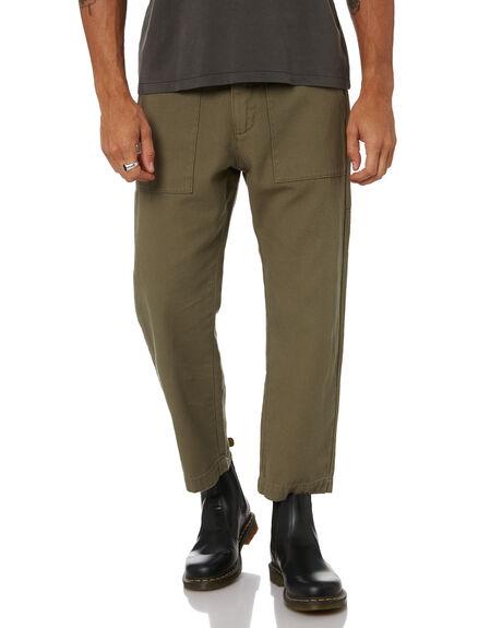 ARMY GREEN MENS CLOTHING THRILLS PANTS - TW21-403FARMGR