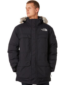 BLACK MENS CLOTHING THE NORTH FACE JACKETS - NF0A33RFJK3