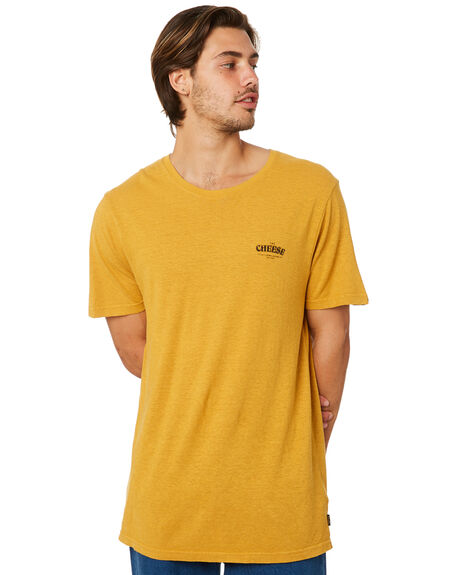 MUSTARD MENS CLOTHING AFENDS TEES - M191014MUST