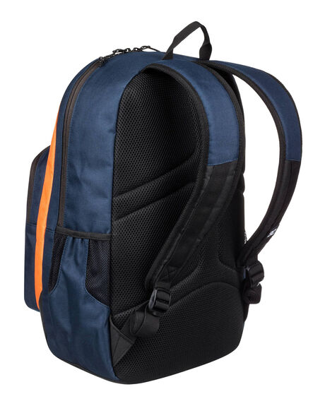 BLACK IRIS/ORANGE MENS ACCESSORIES DC SHOES BAGS + BACKPACKS - EDYBP03176-XBNB