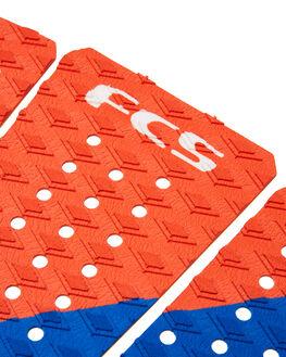 RED WHITE BLUE BOARDSPORTS SURF FCS TAILPADS - FKA02RDWBL