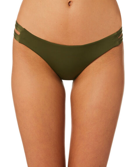 OLIVE OUTLET WOMENS HURLEY BIKINI BOTTOMS - 940927395