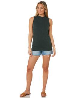 PETROL WOMENS CLOTHING SWELL SINGLETS - S8202014PET