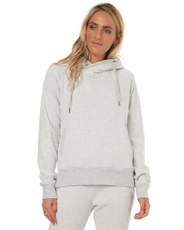 LIGHT HEATHER GREY WOMENS CLOTHING RIP CURL JUMPERS - GFECX1LGREY