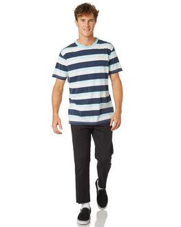NAVY COMBO MENS CLOTHING DEUS EX MACHINA TEES - DMA91837NVY
