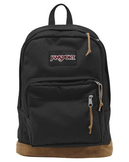 BLACK MENS ACCESSORIES JANSPORT BAGS + BACKPACKS - JSTYP7_JS008BLK