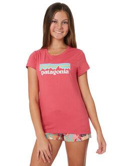 REEF PINK KIDS GIRLS PATAGONIA TOPS - 62157REPI