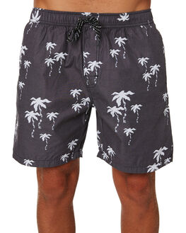 BLACK MENS CLOTHING SWELL BOARDSHORTS - S5193232BLK