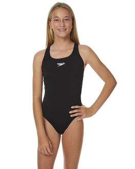 BLACK KIDS GIRLS SPEEDO SWIMWEAR - 42U82-9600