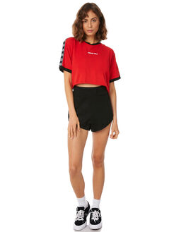 RED WOMENS CLOTHING STUSSY TEES - ST182006RED