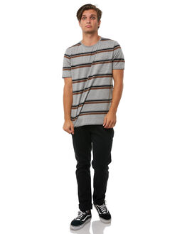 HEATHER GREY MENS CLOTHING CAPTAIN FIN CO. TEES - CK181015HGY