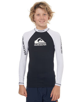 BLACK SURF RASHVESTS QUIKSILVER BOYS - EQBWR03040KVJ0