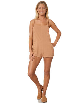 DUSTY PINK WOMENS CLOTHING RUE STIIC PLAYSUITS + OVERALLS - WS18-04-DP-CPPNK