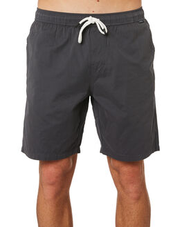 CHARCOAL MENS CLOTHING DEPACTUS BOARDSHORTS - D5201233CHAR
