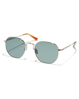 SILVER GREEN MENS ACCESSORIES EPOKHE SUNGLASSES - 0857-SLVPOGRNSLVGN
