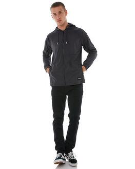 BLACK MENS CLOTHING HURLEY JACKETS - AJ2622010