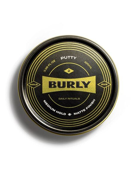NATURAL HOME + BODY BODY BURLY MENS GROOMING - BURLYPUTTY