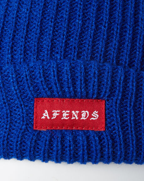 ROYAL BLUE MENS ACCESSORIES AFENDS HEADWEAR - A182600RBLY
