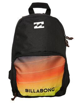 BLACK RED KIDS BOYS BILLABONG BAGS - 9672009BLKR