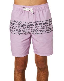 LAVENDER MENS CLOTHING RVCA BOARDSHORTS - R393411LVDR
