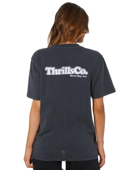 MERCH BLACK WOMENS CLOTHING THRILLS TEES - WTH20-161BMMBLK