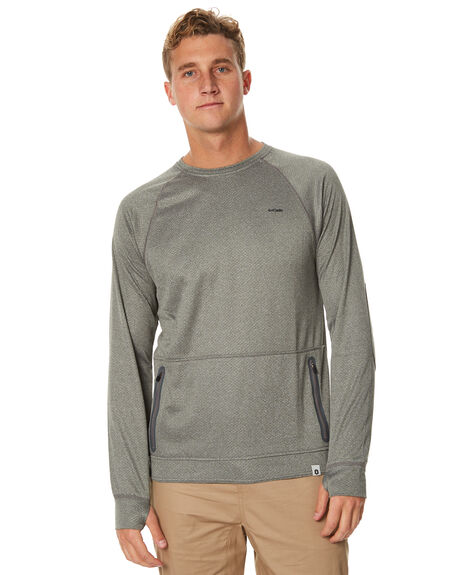 GREY MENS CLOTHING OURCASTE JUMPERS - K1039GRY