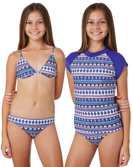 BRIGHT BLUE KIDS GIRLS RIP CURL SWIMWEAR - JSIDK14286