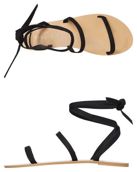 BLACK SUEDE WOMENS FOOTWEAR BILLINI FASHION SANDALS - S551BLKSD