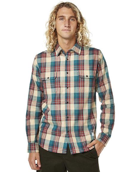 TAN MENS CLOTHING AFENDS SHIRTS - 05-02-102TAN