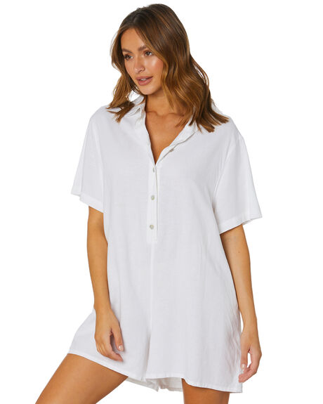 WHITE WOMENS CLOTHING SWELL PLAYSUITS + OVERALLS - S8212448WHITE