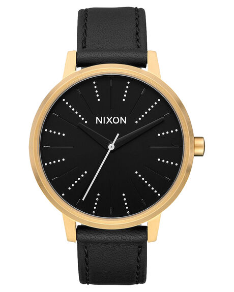GOLD BLACK SILVER WOMENS ACCESSORIES NIXON WATCHES - A108-2879-GLDBL