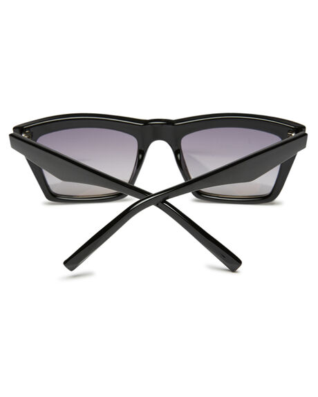 SHINY BLACK SILVER WOMENS ACCESSORIES KENDALL AND KYLIE SUNGLASSES - KK5057G-3BSFL