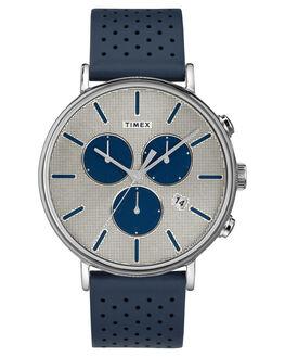 BLUE SILVER MENS ACCESSORIES TIMEX WATCHES - TW2R97700BLUSI