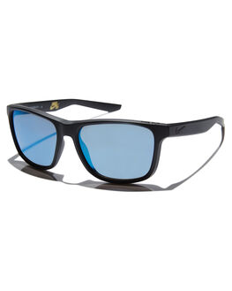 MATTE BLACK GREY MENS ACCESSORIES NIKE SUNGLASSES - EV0989074
