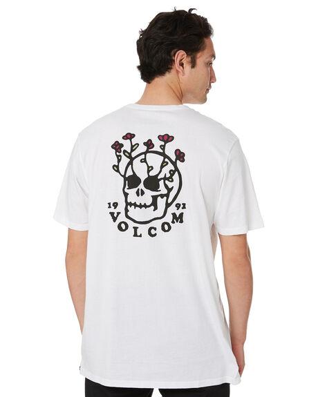 WHITE MENS CLOTHING VOLCOM TEES - A5012009WHT