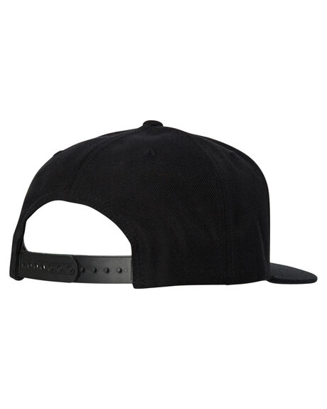 BLACK MENS ACCESSORIES VOLCOM HEADWEAR - D5511561BLK
