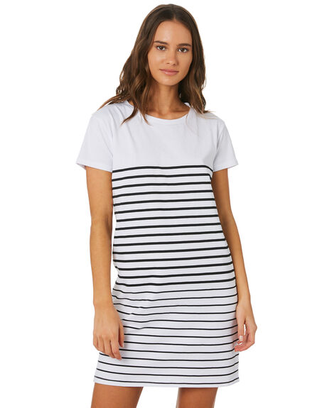 WHITE WOMENS CLOTHING SWELL DRESSES - S8201447WHITE