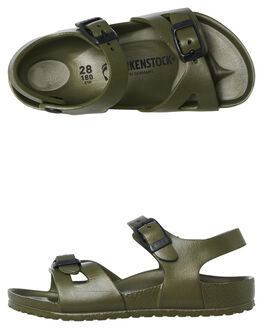 KHAKI KIDS TODDLER BOYS BIRKENSTOCK FOOTWEAR - 1005682KHAKI