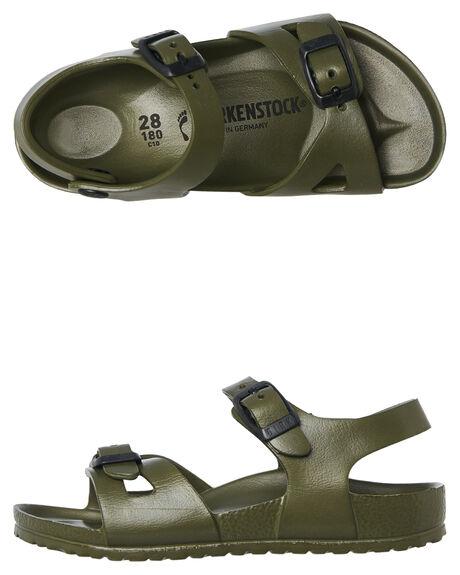 KHAKI KIDS BOYS BIRKENSTOCK FOOTWEAR - 1005682KHAKI