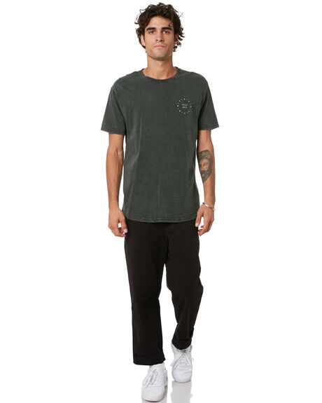 BOTTLE GREEN MENS CLOTHING SILENT THEORY TEES - 4075004BGRN