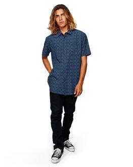NAVY MENS CLOTHING BILLABONG SHIRTS - BB-9592202-NVY