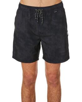 BLACK MENS CLOTHING HURLEY BOARDSHORTS - CK0068010