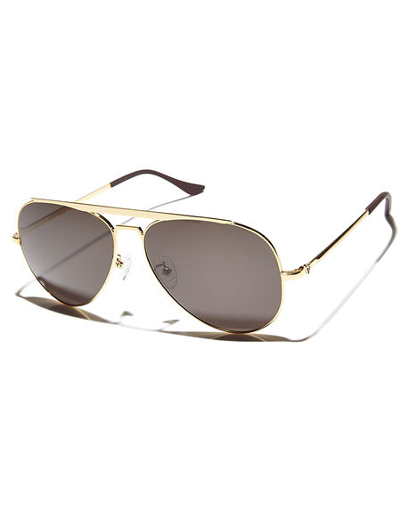 0ac6afcffdb GOLD BLACK MENS ACCESSORIES VALLEY SUNGLASSES - S0158GLDBK