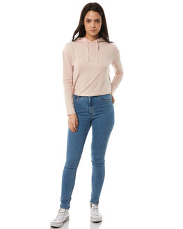 PEARL PINK WOMENS CLOTHING BILLABONG TEES - 6585143PPNK